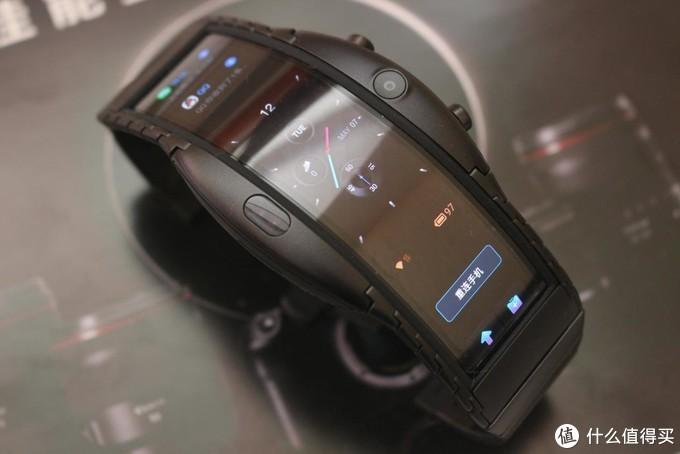 成人版电话手表,努比亚阿尔法柔屏腕机体验