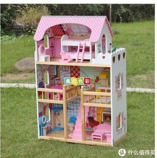 六一儿童节不知道买什么礼物?Hape娃娃屋!