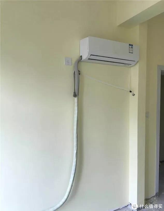 如何拯救管道外露一大截的空调挂机?90%的家庭都不知道!