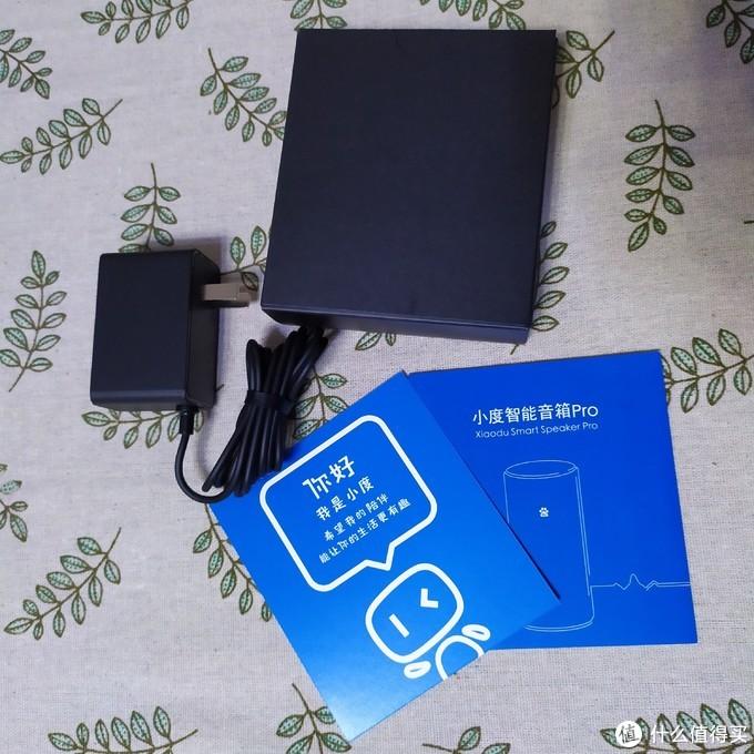 电源适配器、使用说明和领养卡