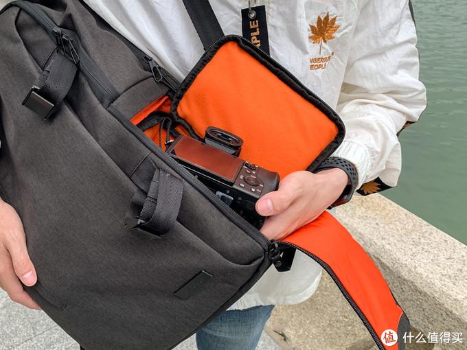 买1送3的摄影通勤双肩包—使用评测