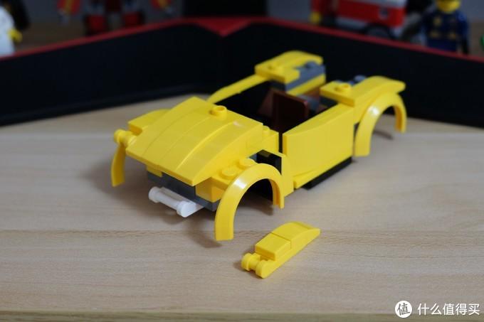 论如何正确的玩moc——LEGO 乐高moc 大黄蜂版 甲壳虫汽车