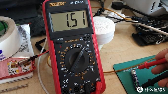 有了万用表能干啥?优仪高 DY-9205A 万用表 晒单