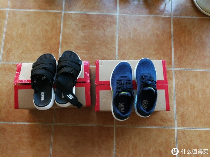 京东618活动晒单,400元买了两双斯凯奇鞋晒单