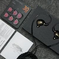 威泽OS1耳机开箱展示(腔体 耳套 编织线 线控 插头)