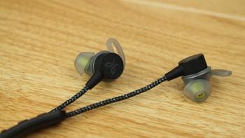 Jaybird Tarah Pro耳机主体展示(单元|耳翼|线控|按键|麦克风)
