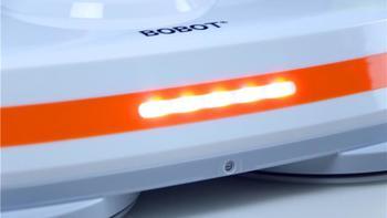 BOBOT无线电动扫地机细节展示(主机 尺寸 拖把头 开关 轮盘)