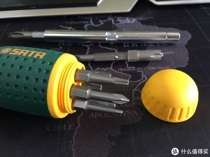 世达家用多功能棘轮螺丝刀套装评测