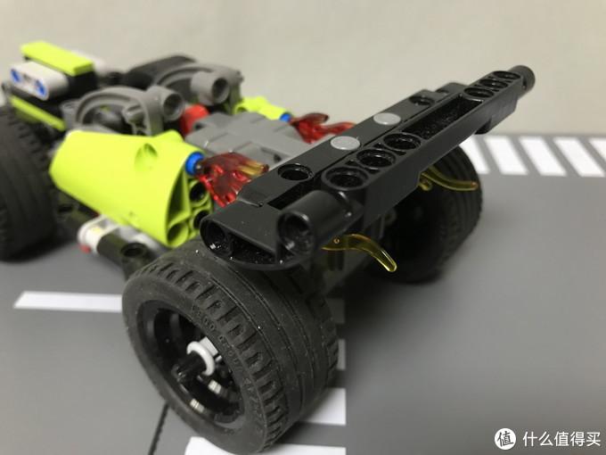 LEGO 乐高 机械组系列 42072 高速赛车旋风冲击