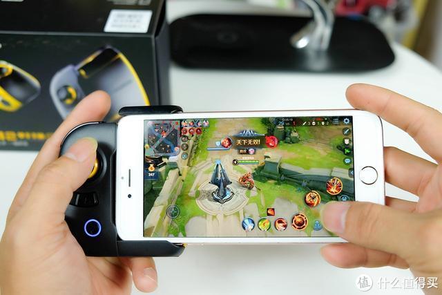 黄蜂2单手手柄体验:苹果安卓平台双通用,解锁新潮玩法!