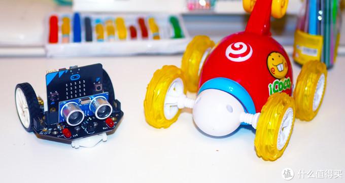 童年有救了,10分钟可以上手,10天没玩明白,可以一直玩下去的DFRobot麦昆编程小车