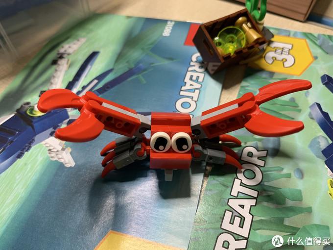 LEGO 乐高31088 深海动物 晒单
