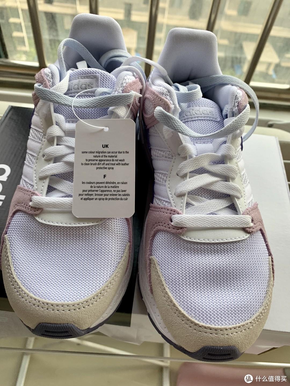 阿迪达斯 adidas neo CRAZYCHAOS 女子休闲鞋开箱晒单