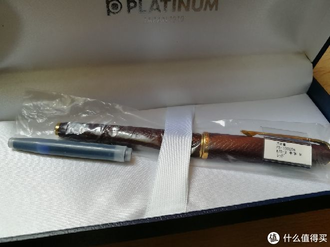 记一次糟糕的钢笔开箱 白金羊皮美巧