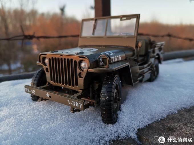 WELLY 1:18 Jeep 吉普车