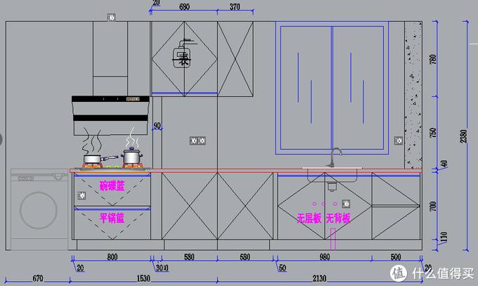 设计师给的初步设计,主要是看水电位置