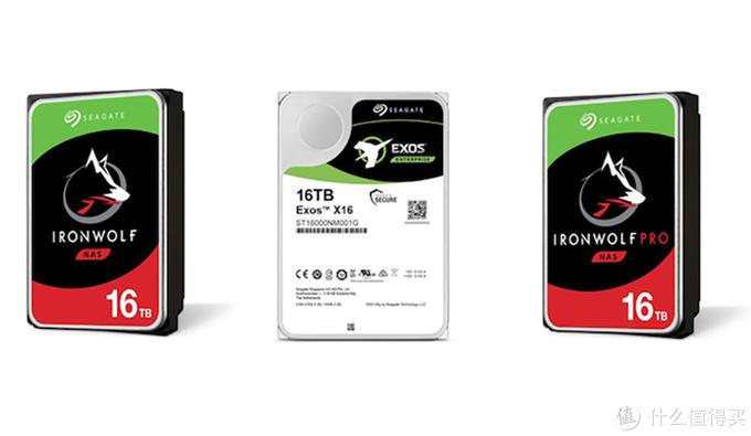 二维磁记录技术:SEAGATE 希捷 推出多款16TB容量硬盘