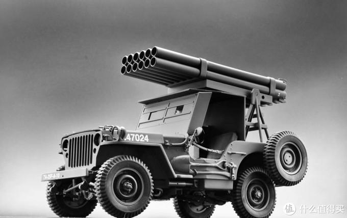 Danbury 1:16威利斯吉普车,加装火箭炮。