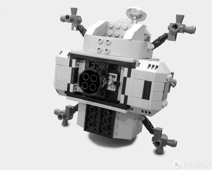 个人的一小步,全人类的一大步——乐高创意百变高手系列 10266 阿波罗11号飞船登月舱