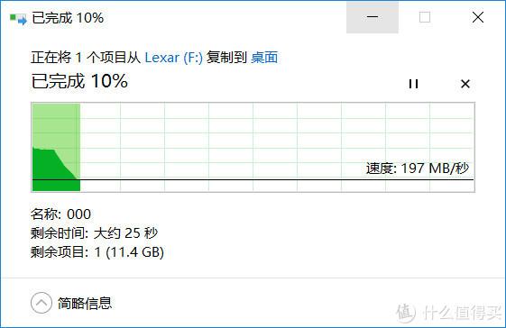 10G压缩文件测试 读取