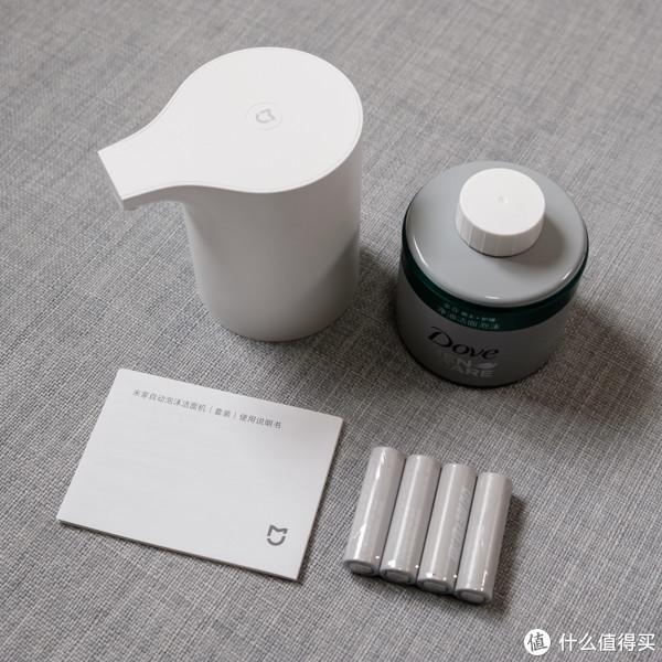 【轻众测】米家 MJJMJ01XW 米家自动泡沫洁面机(套装)