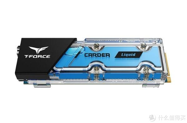 全球首款水冷散热SSD:Team 十铨 发布 T-Force CARDEA Liquid M.2固态硬盘