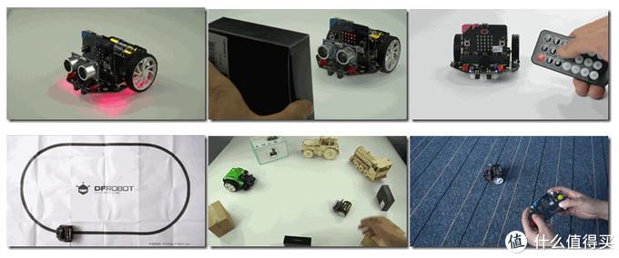 编程界的乐高积木:DFRobot 麦昆编程小车