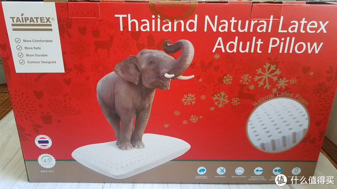 89元入手泰国TAIPATEX乳胶枕,开箱体验
