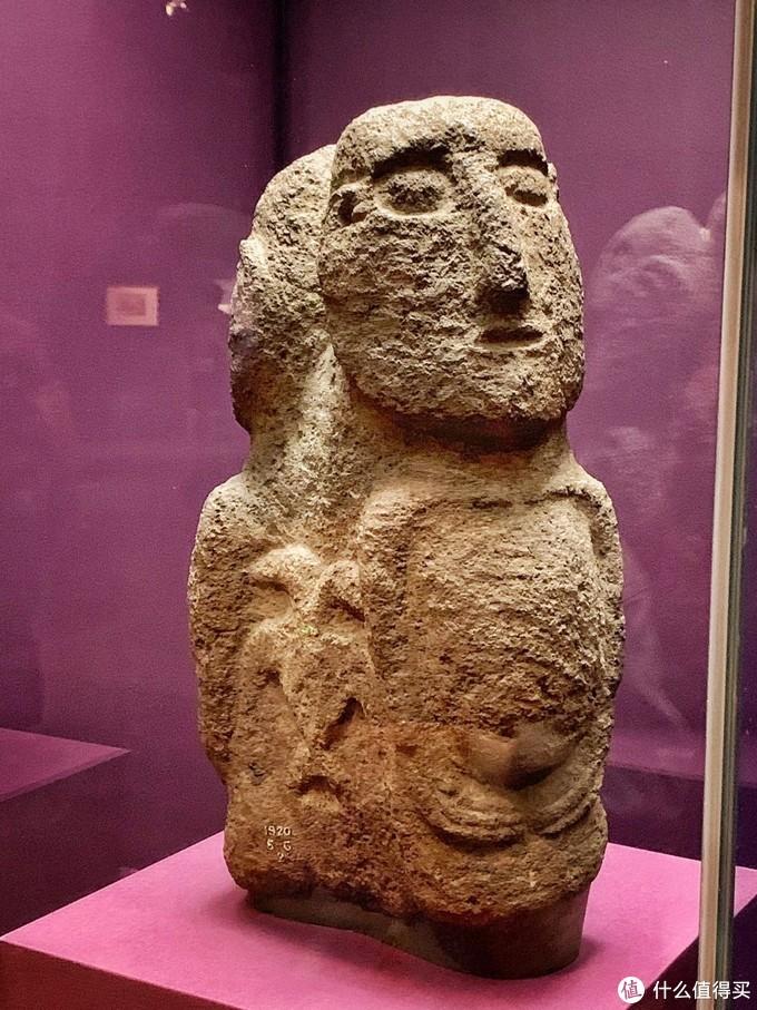 060 双头界石 1600-1800 智利复活节岛