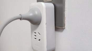 公牛 GN-9312 一转三 竖向拓展插座使用总结(通电|优点|不足)