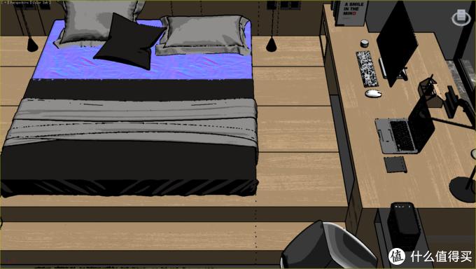 主卧室床头柜