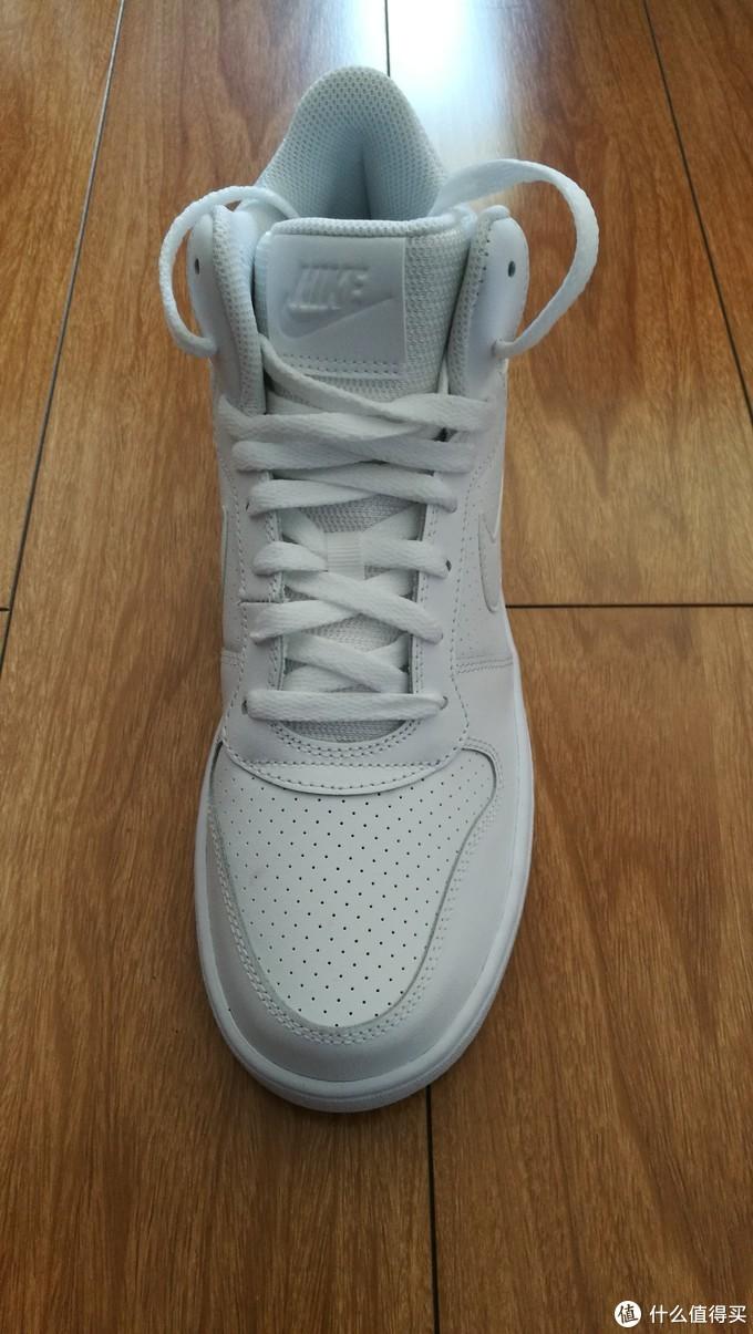 我的第N+2双鞋——nike court borougt mid纯白晒单