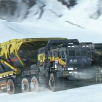 森宝积木之流浪地球CN373斗式运载车头外观展示(人仔|仪表盘|头盔|车头)