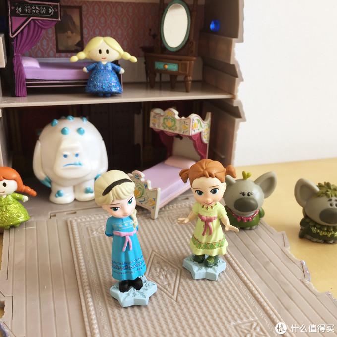 玩具测评丨Disney迪士尼冰雪奇缘公主小屋