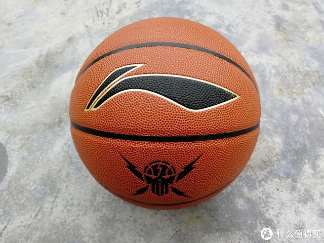 李宁LBQK443-1贴皮篮球--千年打一回的伪球迷之选?