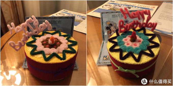 送的生日礼物,其实只有一个宝贝生日,但是送了两个,还有贺卡