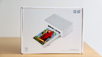 米家照片打印机外观展示(尺寸|纸盒|色带仓|开关键|指示灯)