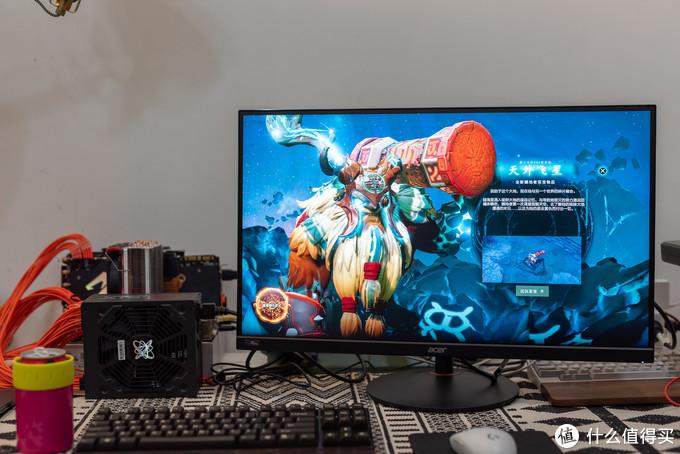 网红游戏显示器到底表现怎样?  宏碁小金刚暗影骑士XV272U P