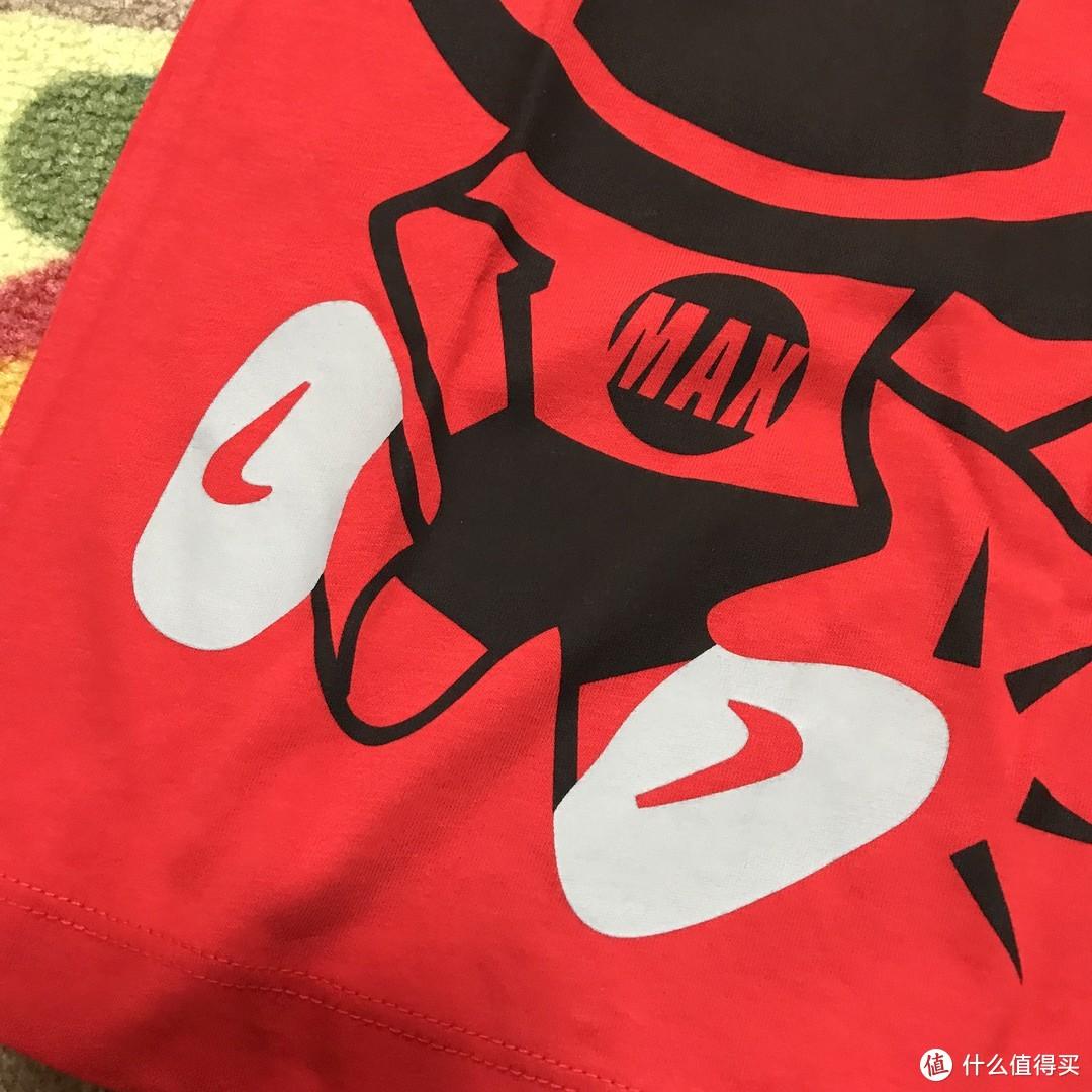 Nike SPORTSWEAR男孩短袖印花T恤BQ5983