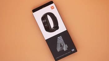 小米手环4开箱展示(屏幕|表盘|按键)