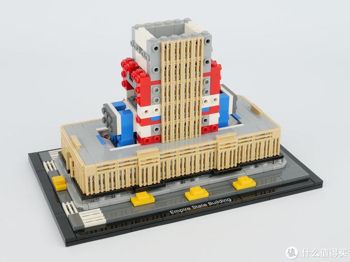 乐高LEGO热门建筑系列帝国大厦21046