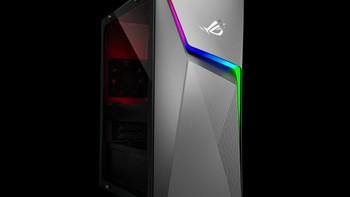 华硕 新款ROG Strix GL10CS 游戏电脑晒物总结(设计|侧透|尺寸|处理器|电源)