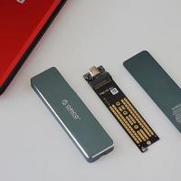 奥睿科 M.2 SSD硬盘盒开箱展示(外壳 顶盖 底盖 主板 接口)