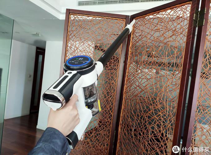 有屏幕的吸尘器就是好用,添可智能吸尘器开箱体会
