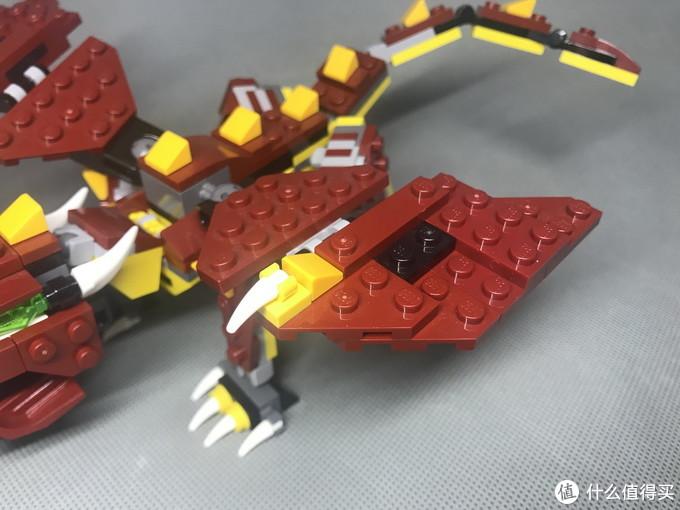 LEGO 乐高 Creator 创意百变组 31073 神秘怪兽