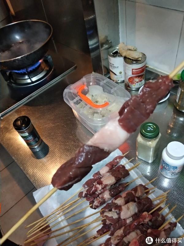 肥膘才是羊肉串的soul,草原宏宝羊肉串试做兼618京东生鲜下单晒单