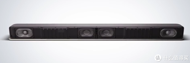 X8500发声单元在左右两侧(中间两个是低音单元)