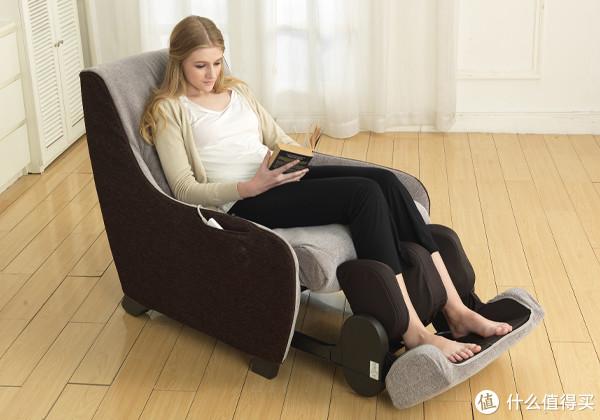 小清新布艺风,松下MS41按摩椅使用测评