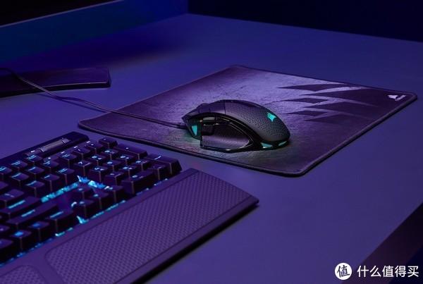 18000 DPI、10个可编程按键:CORSIR 美商海盗船 发布 NIGHTSWORD RGB 等两款游戏鼠标