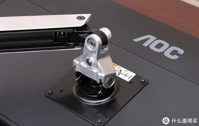 实测32寸没问题,爱格升 LX 单臂显示器支架上手
